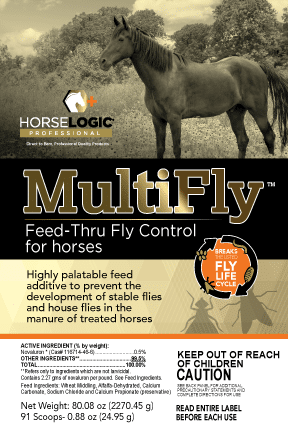 MultiFly Feed-Thru Fly Control for Horses